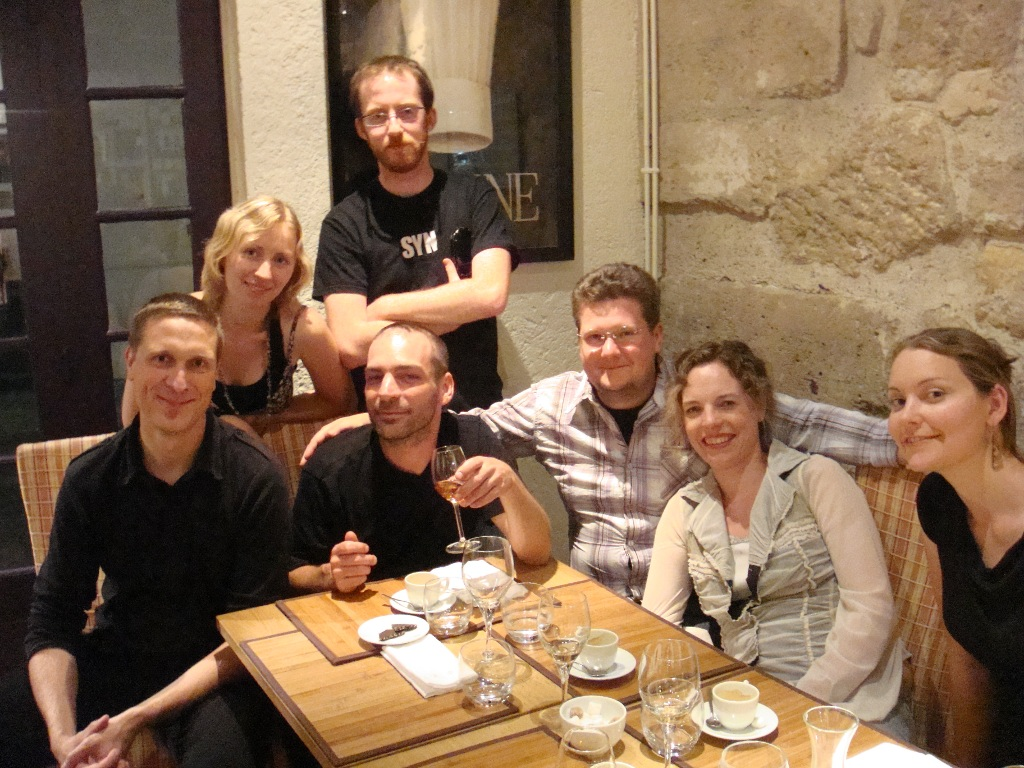 Dinner in Paris with SHR and openBmap