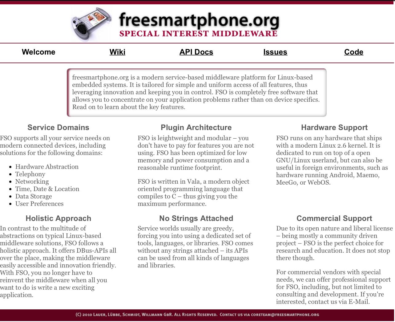 freesmartphone.org